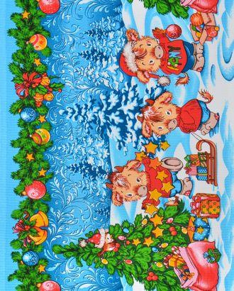 Новогодние радости (Полотно вафельное 50 см) арт. ПВ50-189-1-0989.092