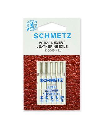 Иглы для кожи набор, Schmetz арт. ИДК-2-1-37132