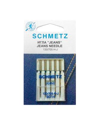 Иглы для джинсы №90/14, Schmetz арт. ИДД-1-1-37124