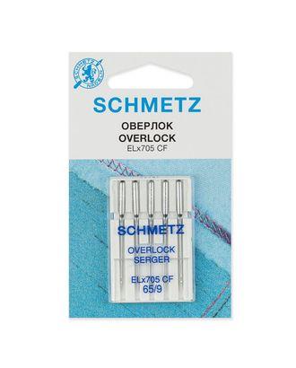 Иглы для плоскошовных машин, хромированные №65/9, Schmetz арт. ИПМ-7-1-37133