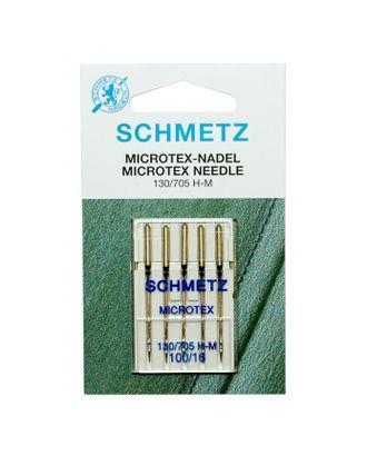 Иглы микротекс (особо острые) №100/16, Schmetz арт. ИМК-5-1-37130