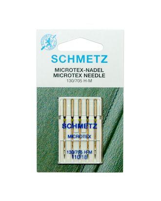 Иглы микротекс (особо острые) №110/18, Schmetz арт. ИМК-3-1-37106