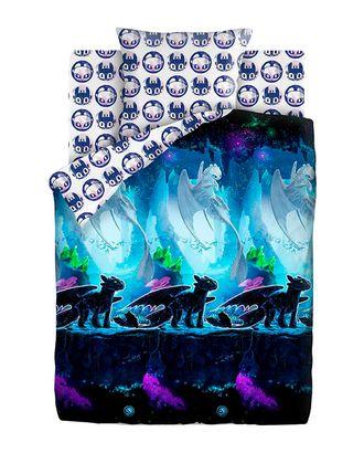 Как приручить дракона Neon: Таинственный мир (Хлопок КПБ 1,5сп.) арт. КПБЛ-156-1-1053.108