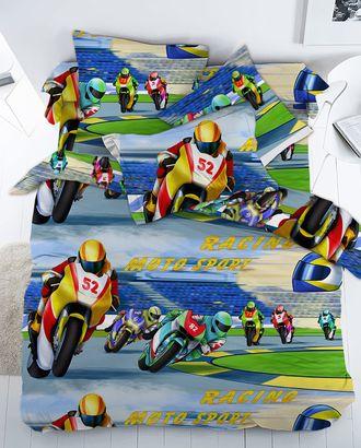 Мотоциклисты (Бязь 150 см) арт. БД-385-1-1134.016