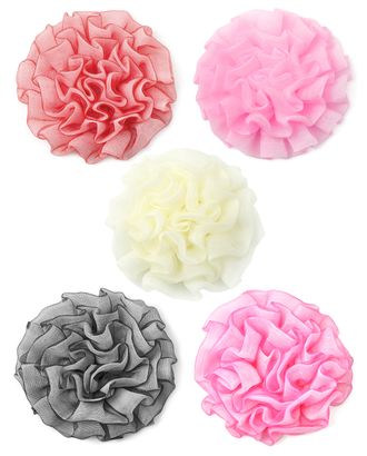 Цветы д.7 см ассорти арт. ЦП-107-1-13073.007