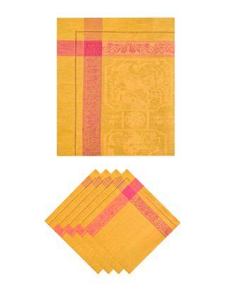 Столовый набор из 5 предметов (150х150) арт. ГПК-159-1-1356.004