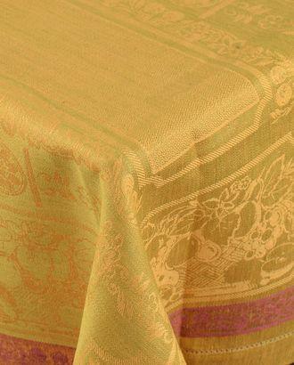 Жаккардовая скатерть с мережкой (150х300) арт. ГСЛ-40-1-1366.009
