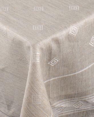 Жаккардовая скатерть с мережкой (150х300) арт. ГСЛ-17-1-1366.001