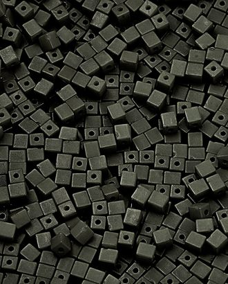 Бусы (пластик) р. 0,4x0,4 см арт. БС-238-10-13749.014