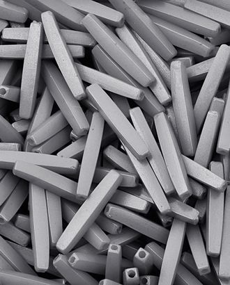 Бусы (пластик) р. 0,4x2,1 см арт. БС-241-4-13758.009