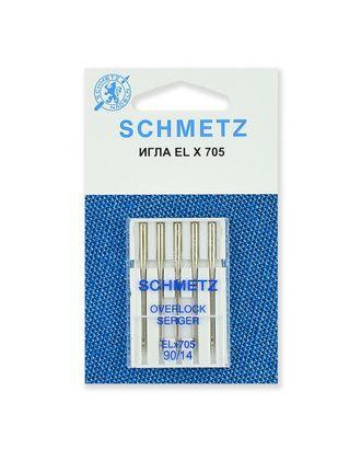 Иглы для плоскошовных машин, хромированные №90/14, Schmetz арт. ИПМ-4-1-37105