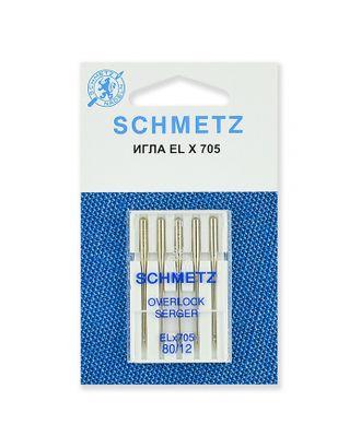 Иглы для плоскошовных машин, хромированные №80/12, Schmetz арт. ИПМ-2-1-37092