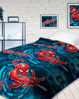 Человек паук Neon: Непобедимый (Покрывало стеганное 145х200) арт. ГИП-6-1-1442.007