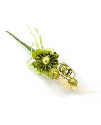 Букетик хризантема с блеском арт. ТБУ-1-3-14856.003