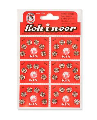 Кнопки KOH-I-NOOR №1 (д.8мм) арт. КНП-12-1-18141