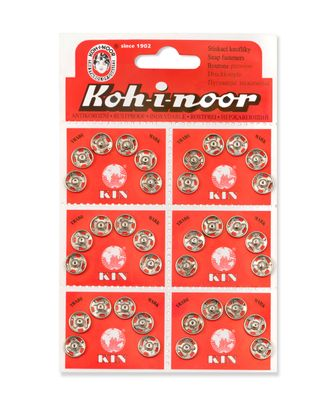 Кнопки KOH-I-HOOR №3 (д.10мм) арт. КНП-4-1-18145