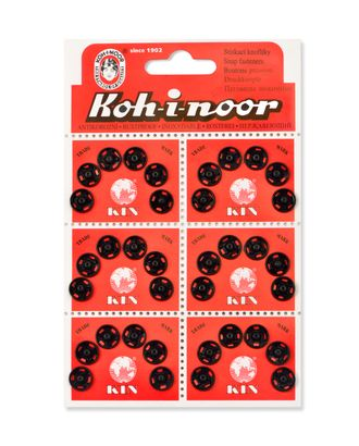 Кнопки KOH-I-NOOR №3 (д.10мм) арт. КНП-5-1-18146