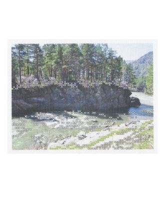 """Рисунок на ткани """"Пейзаж"""" арт. ВТ-84-1-18650"""