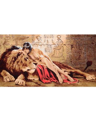 Клеопатра (купон гобеленовый) арт. КГ-17-1-1614.009