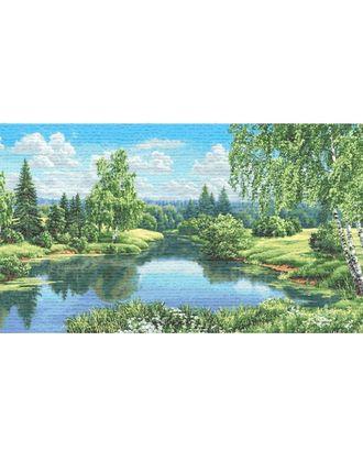 Пейзаж с березами (купон гобеленовый) арт. КГ-20-1-1614.012