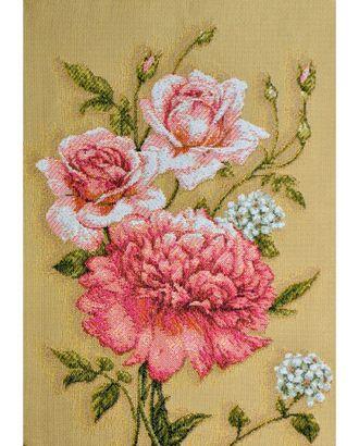 Бутоны роза и пион (купон гобеленовый) арт. КГ-13-1-1614.005