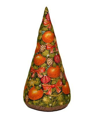 Апельсиновая елка (гобеленовая подушка) арт. СИПИ-8-1-1613.001