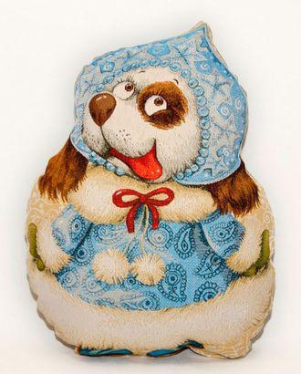 Снегурочка (гобеленовая подушка) год собаки арт. СИПИ-10-1-1613.003