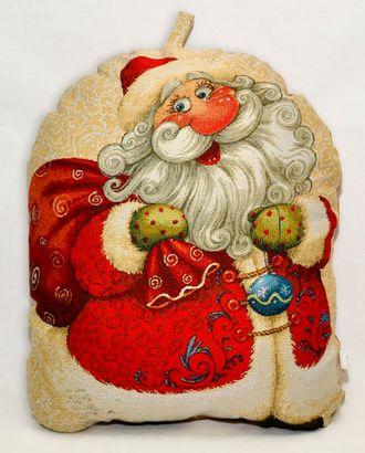 Дед Мороз (гобеленовая подушка) арт. СИПИ-12-1-1613.005