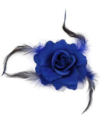 Цветок-брошь д.10 см арт. ЦБ-23-1-30357