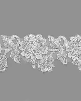 Кружево декоративное ш.9,5 см арт. КРО-116-1-18554
