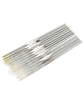 Крючки вязальные ассорти (металл) арт. ИВЗ-124-1-31343