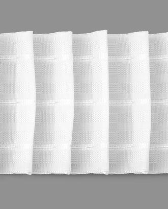 Тесьма шторная ш.8 см арт. ШТФТ-33-1-34588