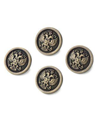 Пуговицы 32L (металл) арт. ПУМ-374-5-15875.004