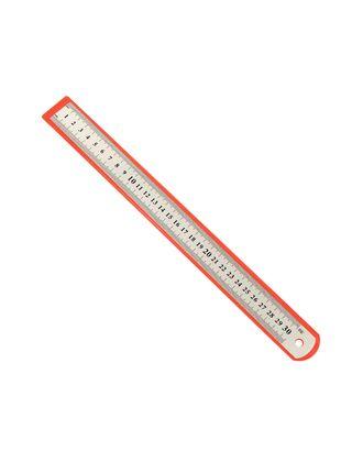 Линейка 30 см (металлическая) арт. ЛН-34-1-30704