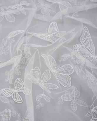 "Вышивка на сетке ""Бабочки"" арт. КПГН-71-2-20538.002"