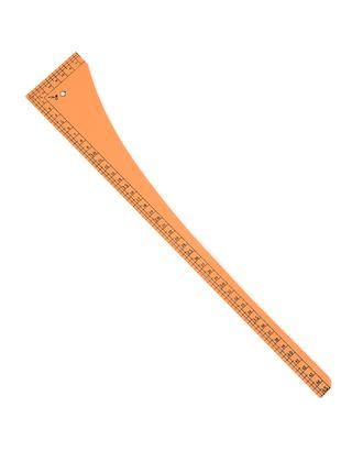 Лекало треугольник дл.45 см (пластик) арт. ЛЕ-31-1-31000