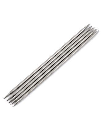 Спицы чулочные д.5 мм (металл) арт. ИВЗ-137-1-31356