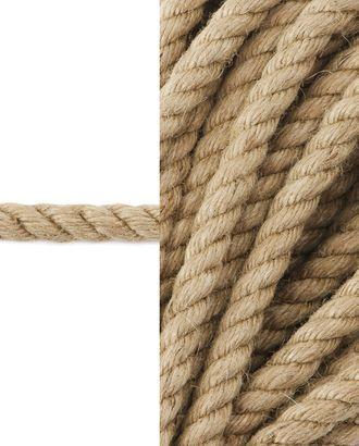 Канат  джутовый д.0,8 см арт. ШБ-75-1-34343