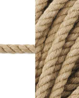 Канат  джутовый д.1 см арт. ШБ-76-1-34344
