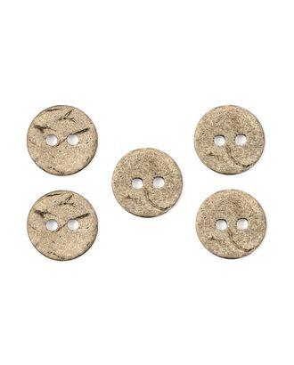 Пуговицы 24L (кокос) арт. ПК-83-1-35395
