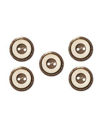 Пуговицы 24L (кокос) арт. ПК-109-1-35427