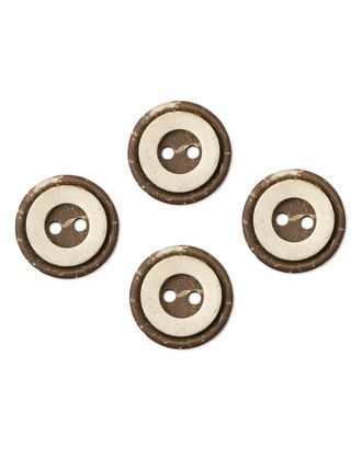 Пуговицы 28L (кокос) арт. ПК-108-1-35428