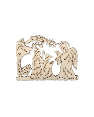 "Деревянная заготовка ""Благая вести"" р.7,5х10,5 см арт. ТЗД-34-1-16707"
