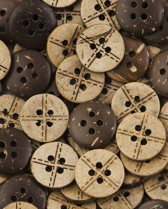 Пуговицы 20L (кокос) арт. ПК-230-1-37009