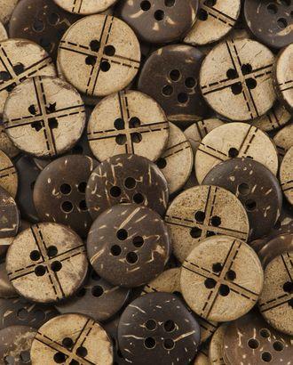 Пуговицы 24L (кокос) арт. ПК-228-1-37008