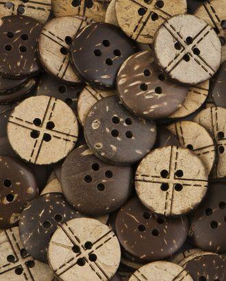 Пуговицы 28L (кокос) арт. ПК-229-1-37009