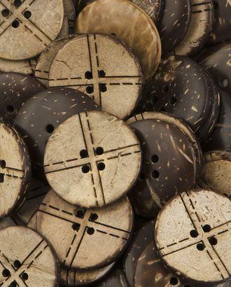 Пуговицы 40L (кокос) арт. ПК-226-1-37011