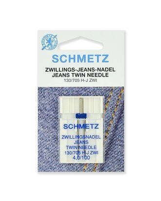 Иглы джинс двойные №100/4,0, Schmetz арт. ИБД-4-1-37107