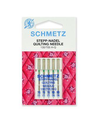 Иглы для квилтинга набор, Schmetz арт. ИКВ-3-1-37129