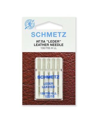 Иглы для кожи №100/16, Schmetz арт. ИДК-1-1-37131